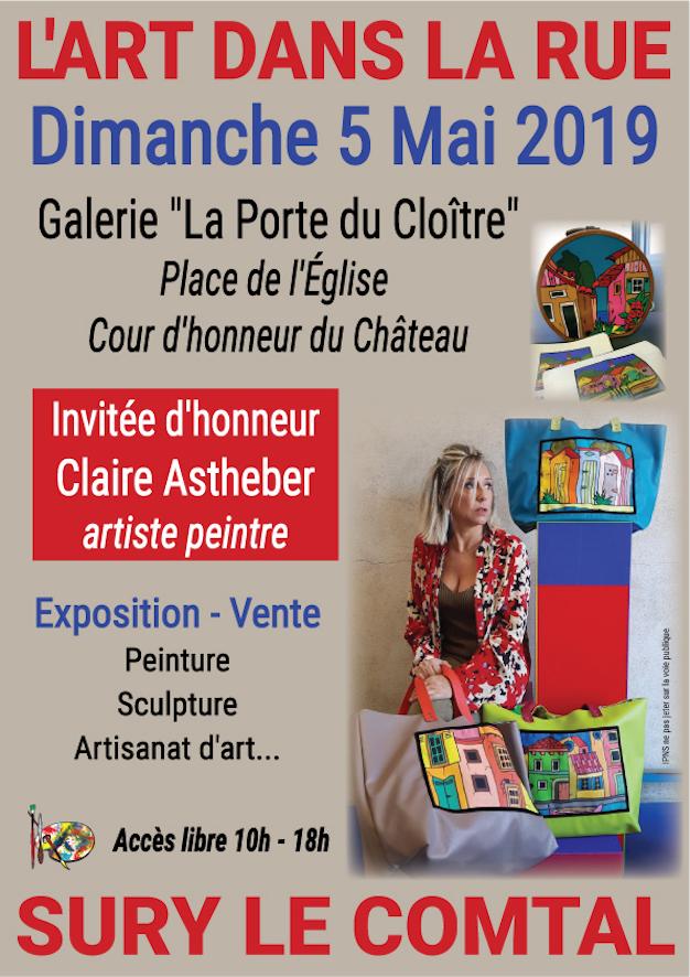 Exposition Art dans la rue 2019