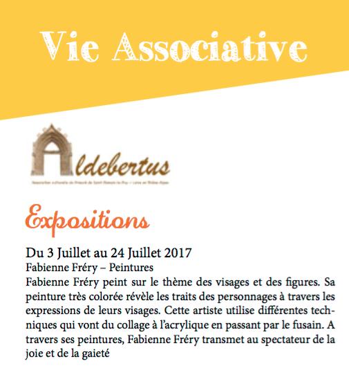 """Exposition """"Le Prieuré"""" St-Romain-LePuy"""