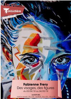 Affiche - expo Galerie la Vitrine - La Talaudière -