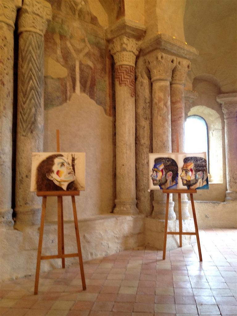 Exposition Prieuré à St Romain le Puy - Loire - 2017