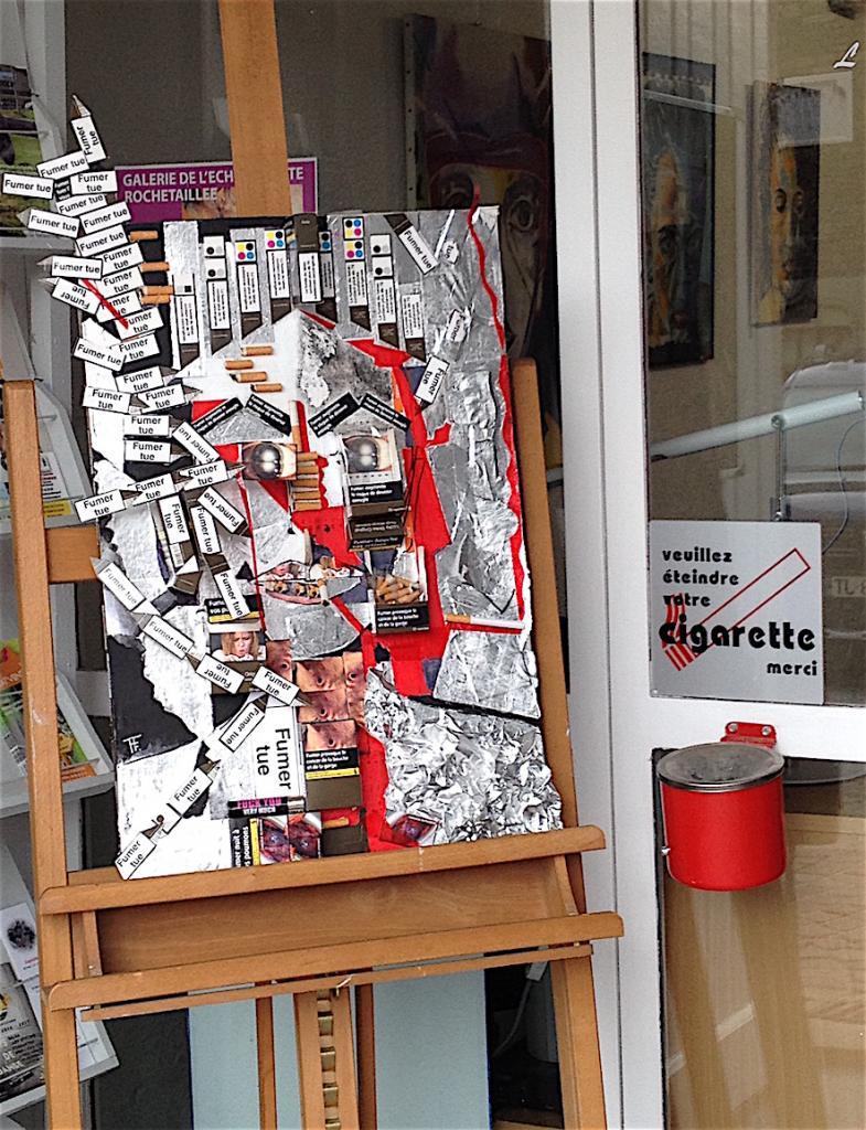 """Exposition galerie """"l'Echauguette"""" Rochetaillée"""" Loire"""