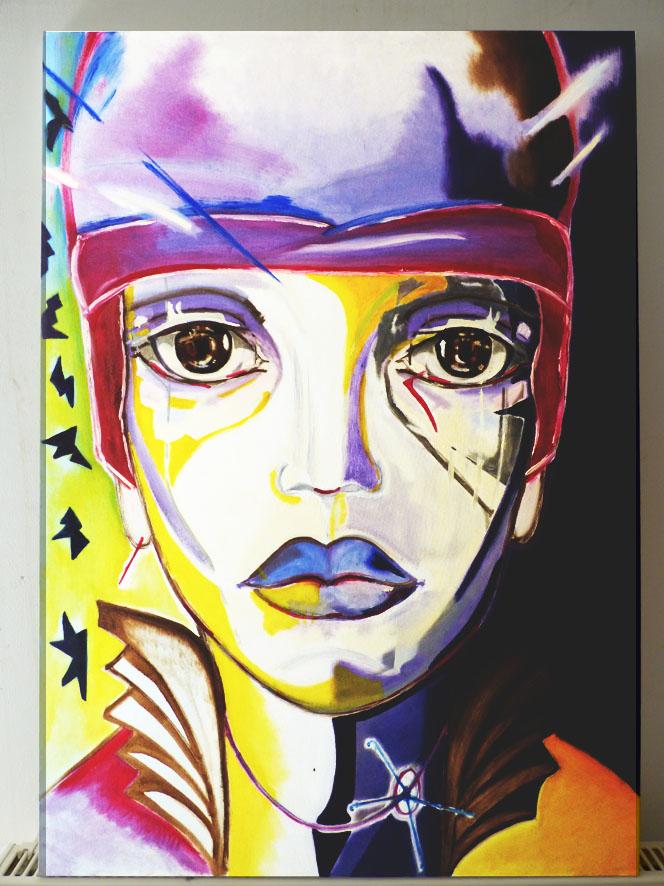 ombre et lumière - huile sur toile - 65x92 - collection privée